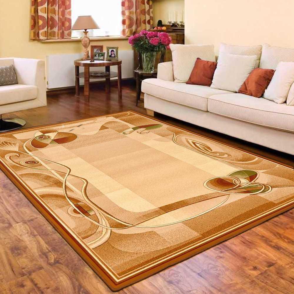 Alfombra 100% lana virgen oriental persisches Design salón Hima Sahara