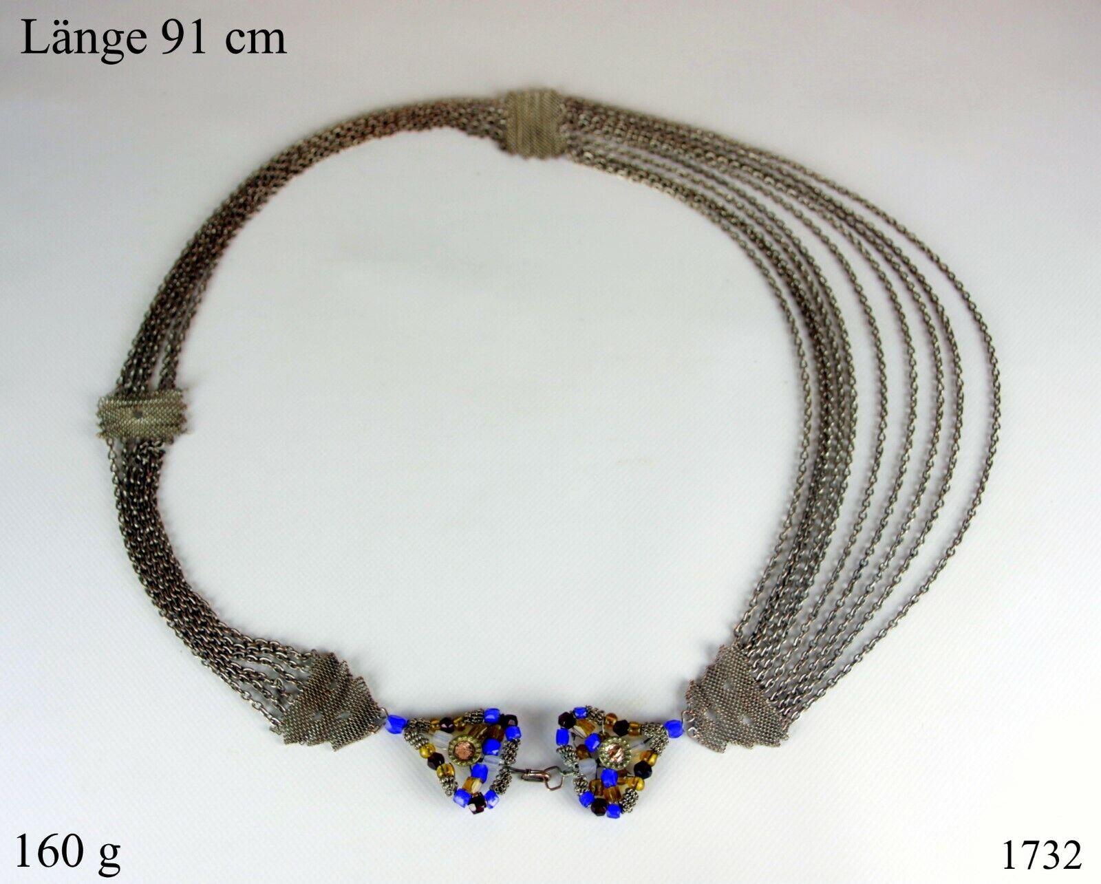 Hüftkette Hüftgürtel für orientalischen orientalischen orientalischen Tanz Bauchtanz Messing Versilbert 449035