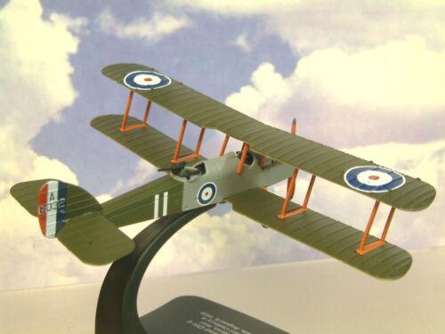 Oxford Luftfahrt 1/72 WWI Doppeldecker De Havilland Dh4 Raf 212 Sqn August 1918 Spielzeugautos