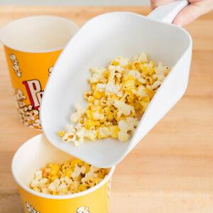 Popcorn-Machine-supplies-32oz-White-Plastic-Popcorn-Scoop-or-Ice-scoop