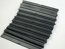 """HO Slot Car Track Parts - Life Like 9"""" Straight Track Lot of 8 Pieces - 593502"""