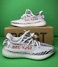 adidas Yeezy Boost 350 V2 Zebra Kanye White Red Size 5 Cp9654