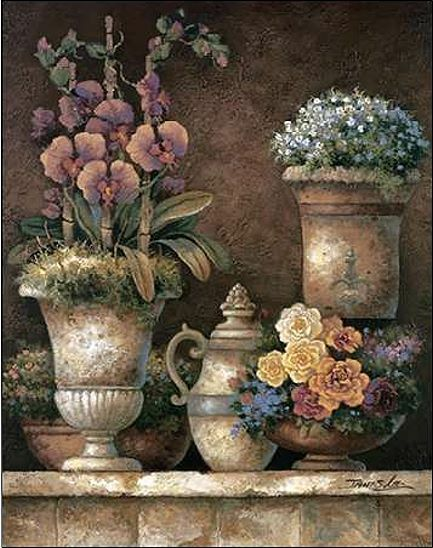 James Lee : Victoriana Blossoms i Camilla-Imagen Pantalla de Pantalla Camilla-Imagen Flores Vintage fed20a