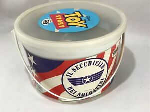 TOY STORY gig Secchiello Soldatini small soldiers Disney BUCKET O' SOLDIERS Used