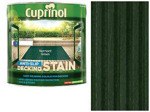 Image Is Loading Cuprinol 2 5l Anti Slip Decking Stain Vermont