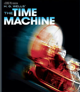 The-Time-Machine-1960-Rod-Taylor-BLU-RAY-NEW