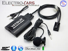 BLUETOOTH INTERFACE AUTORADIO COMPATIBLE PEUGEOT 206 207 307 308 407 807 1007