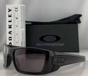 7808396e82dc Oakley Fuel Cell Sunglasses OO9096-01 Shiny Black Warm Grey Lenses ...