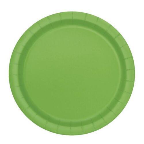 Vert Grand Papier Assiettes Serviettes Tasses Table Housse en tissu Anniversaire Barbecue Enfants Fête