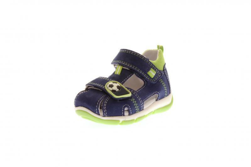 Superfit Kinder Sandale Frotdy BLAU HELLGRÜN (Blau) 4-00144-80