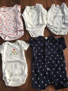 5 Stück Baby Bodies Gr. 50-56 - Ditzingen, Deutschland - 5 Stück Baby Bodies Gr. 50-56 - Ditzingen, Deutschland