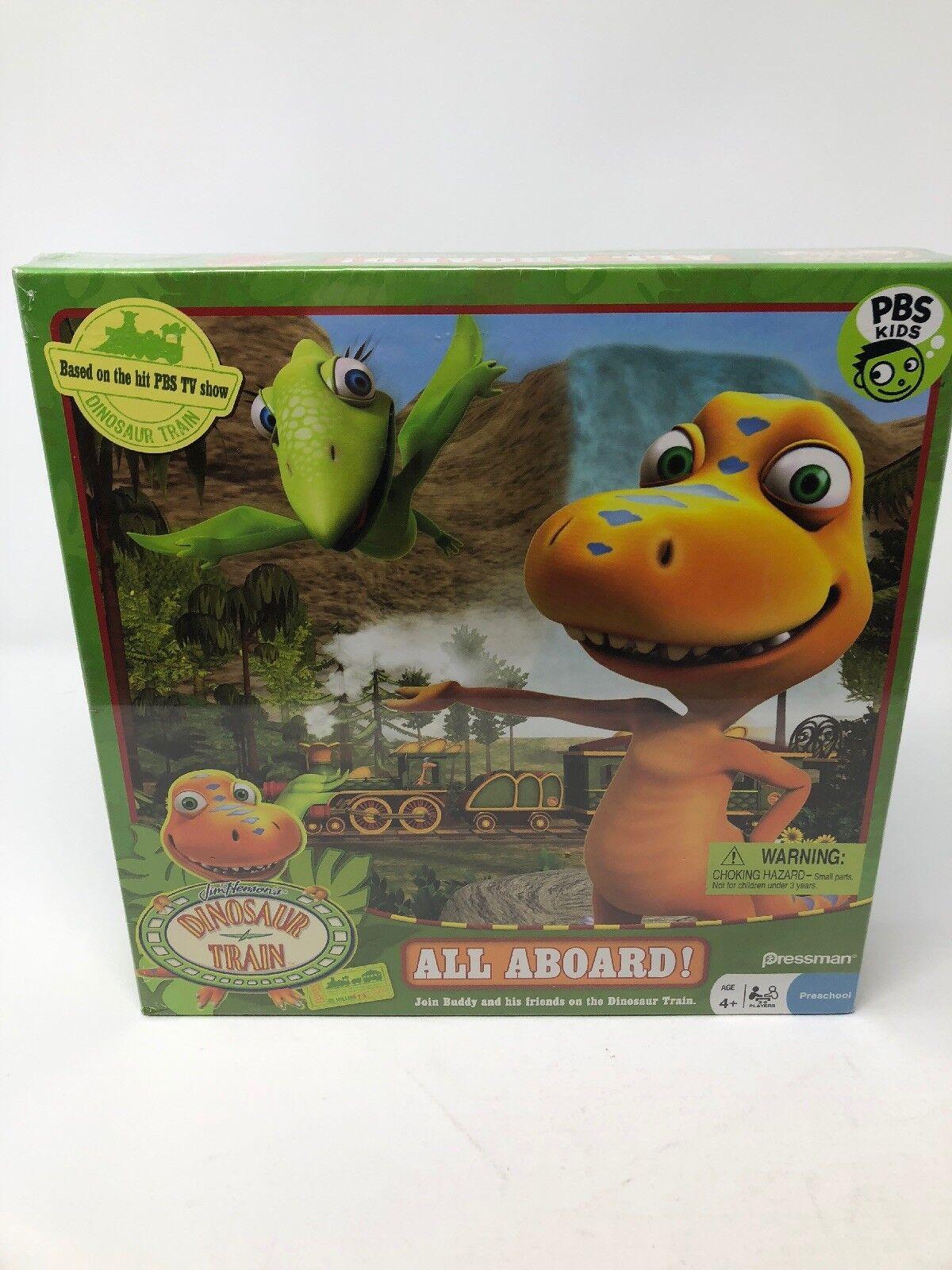 Dinosaur Train todos a bordo juego PBS Kids 2010 Pressman