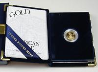 2006 US Mint 1/10 OZ $5 American Eagle Gold Bullion Coin Proof