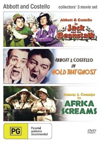 1 of 1 - Africa Screams / Hold that Ghost / Jack and the Beanstalk (Abbott and Costello)
