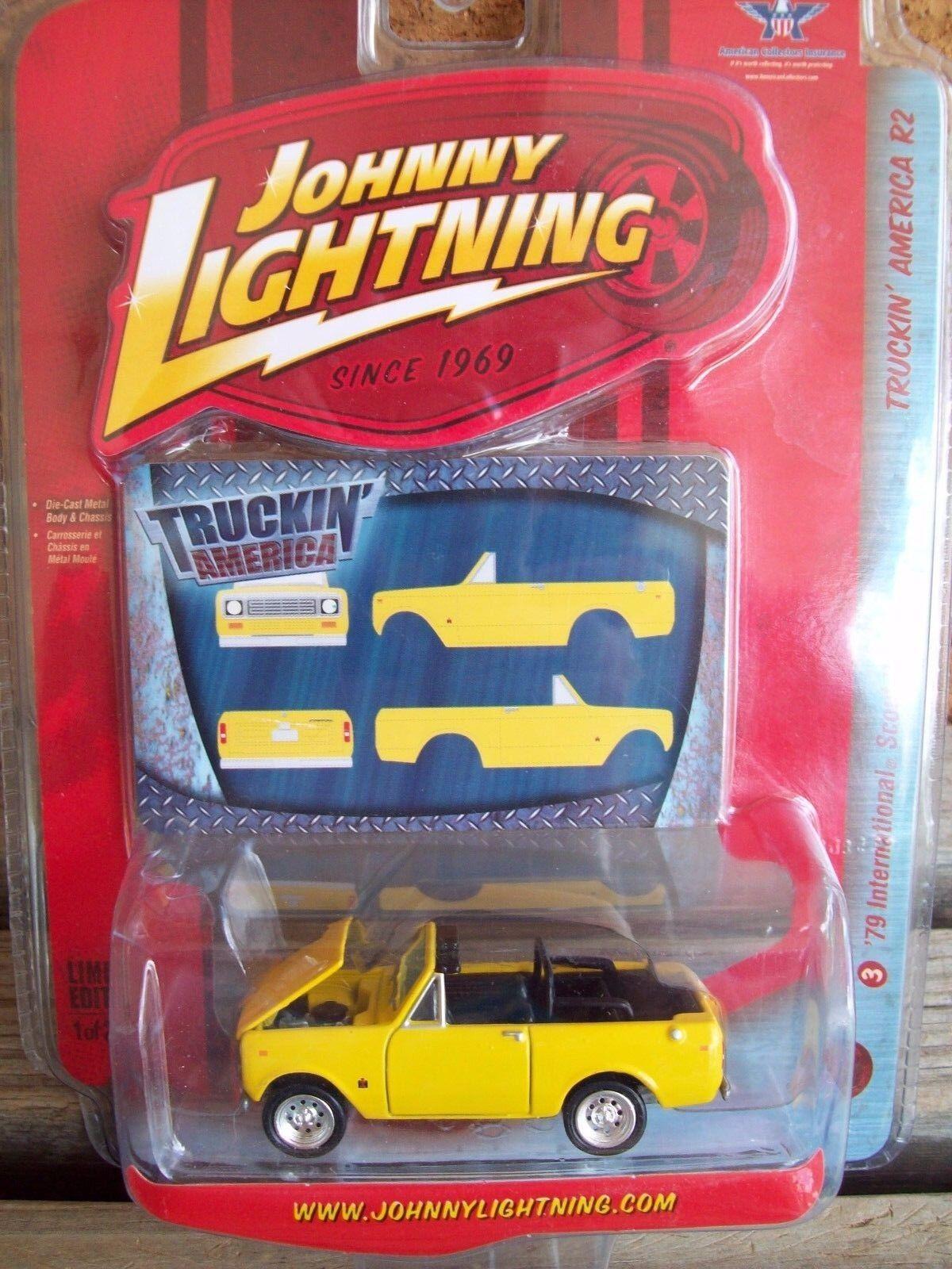 2008 johnny lightning 1979 internationalen scout ii cabrio von 2500 mip selten.
