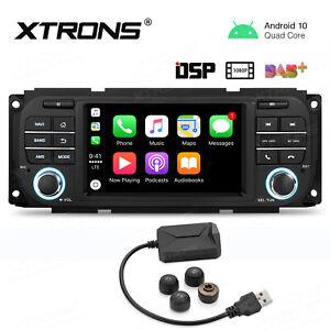 "5"" UI GPS HD Android 10 DSP Autoradio Navi USB inkl.RDKS für Jeep Dodge Stratus"