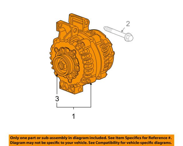 Genuine GM Alternator 25925948 | eBay on