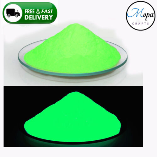 Premium Neon Glow in the Dark Pigment Powder for Paint,Nail,Art,Crafts Acrylic