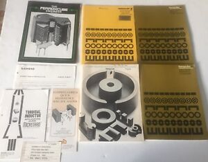 4-Ferroxcube-Manual-amp-Booklets-Linear-Ferrite-materials-components-magnetic-1st