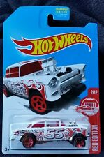2017 Hot Wheels Target Exclusive RED EDITION 55 CHEVY BEL AIR GASSER New Release