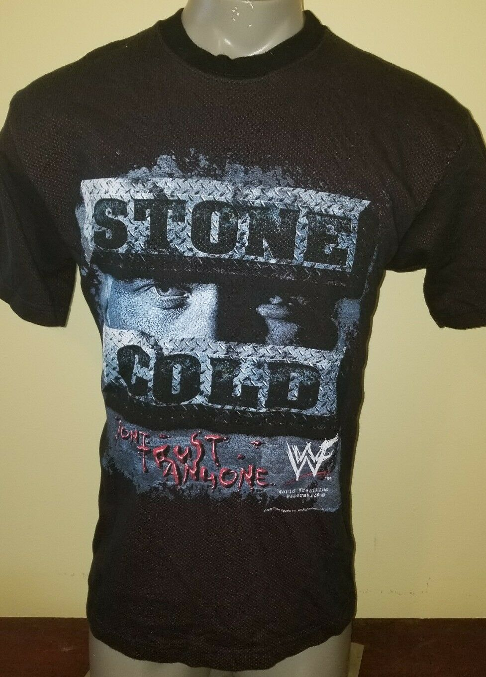 Vtg NOS Large Stone Cold Steve Austin DTA shirt vintage WWF WWE WCW ECW 1999