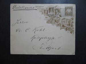 Bavaria-1806-1906-Kinds-Cacheted-Postal-Card-Used-Z10265