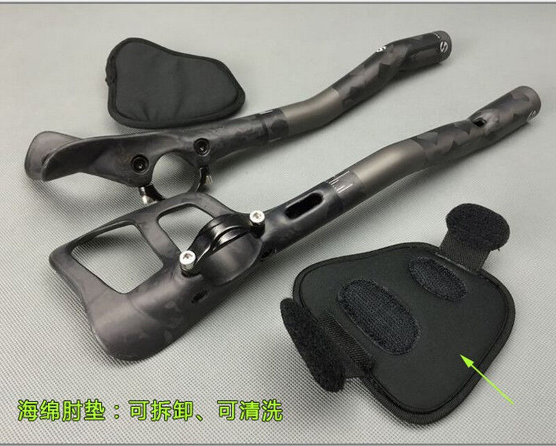 TOSEEK Carbon Fiber Road  Bike Bicycle Triathlon Rest Handlebar TT Handlebar 270g  online shopping and fashion store