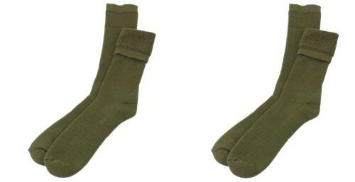 Men/'s Wool Boot Sock Australian Military 12-15 OD Green X Large Tall Cushion 2