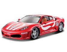 BBURAGO 1:24 DISPLAY FERRARI RACE & PLAY FERRARI F430 FIORANO Diecast Car 26059