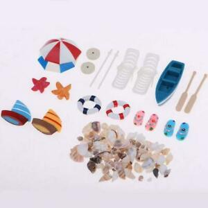 Miniature-Beach-Set-Dollhouse-Outdoor-Garden-Play-Toy-New-Xmas-Gift-For-Kid-R6X2