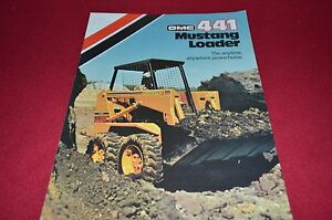 Owatonna 441 Mustang Skid Steer Loader Dealers Brochure