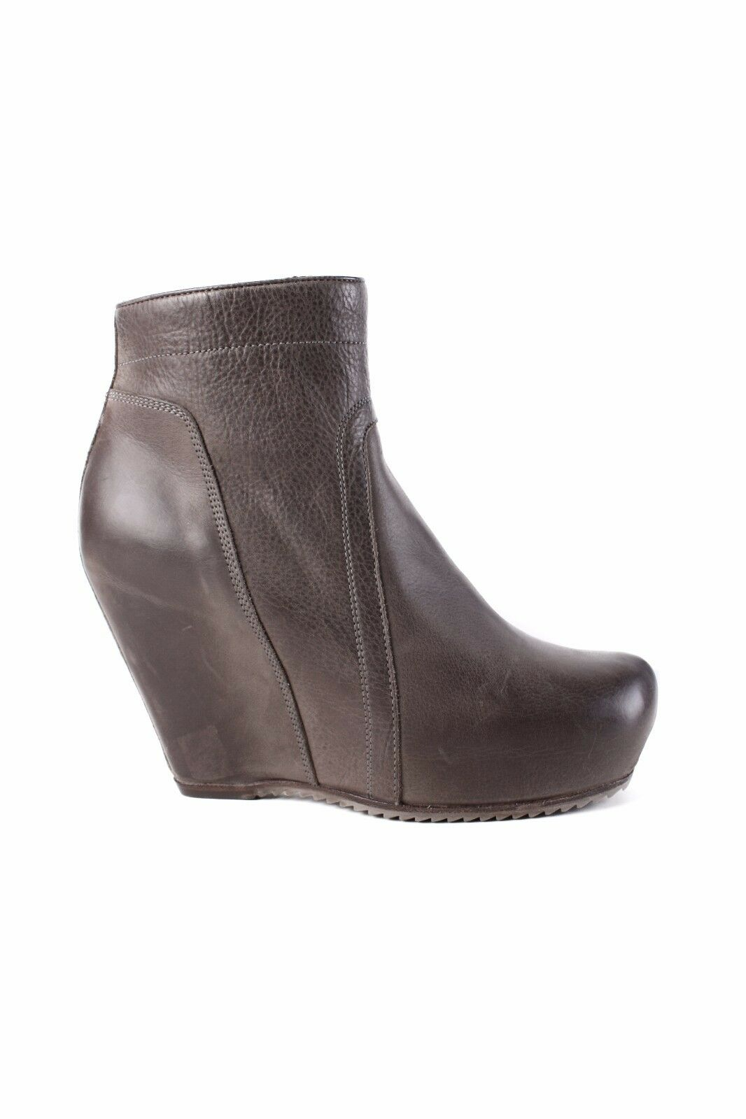 Man's/Woman's Rick Owens leather wedge boot Big clearance sale Environmentally friendly Cheap order