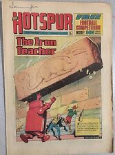 THE HOTSPUR weekly British comic book #733 November 3, 1973 no freebie inside