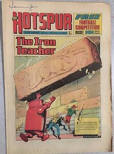 THE HOTSPUR weekly British comic book #733 November 3, 1973 no freebie inside
