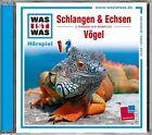Was ist was Hörspiel-CD: Schlangen & Echsen/ Vögel (2012)