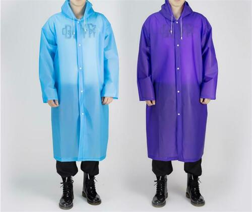 Reusable Raincoat Adult Poncho Waterproof for Hood Festivals Gadget P3
