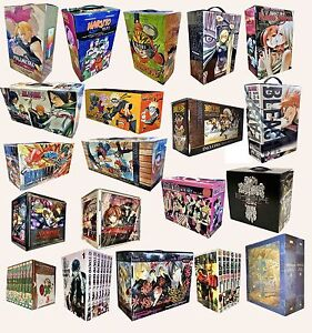 Manga-Anime-Naruto-One-Piece-Bleach-Ouran-One-Punch-Nausicca-Collection-Box-Set