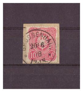 Empire-Allemand-Minr-33-K-1-Grossenhain-20-06-1878