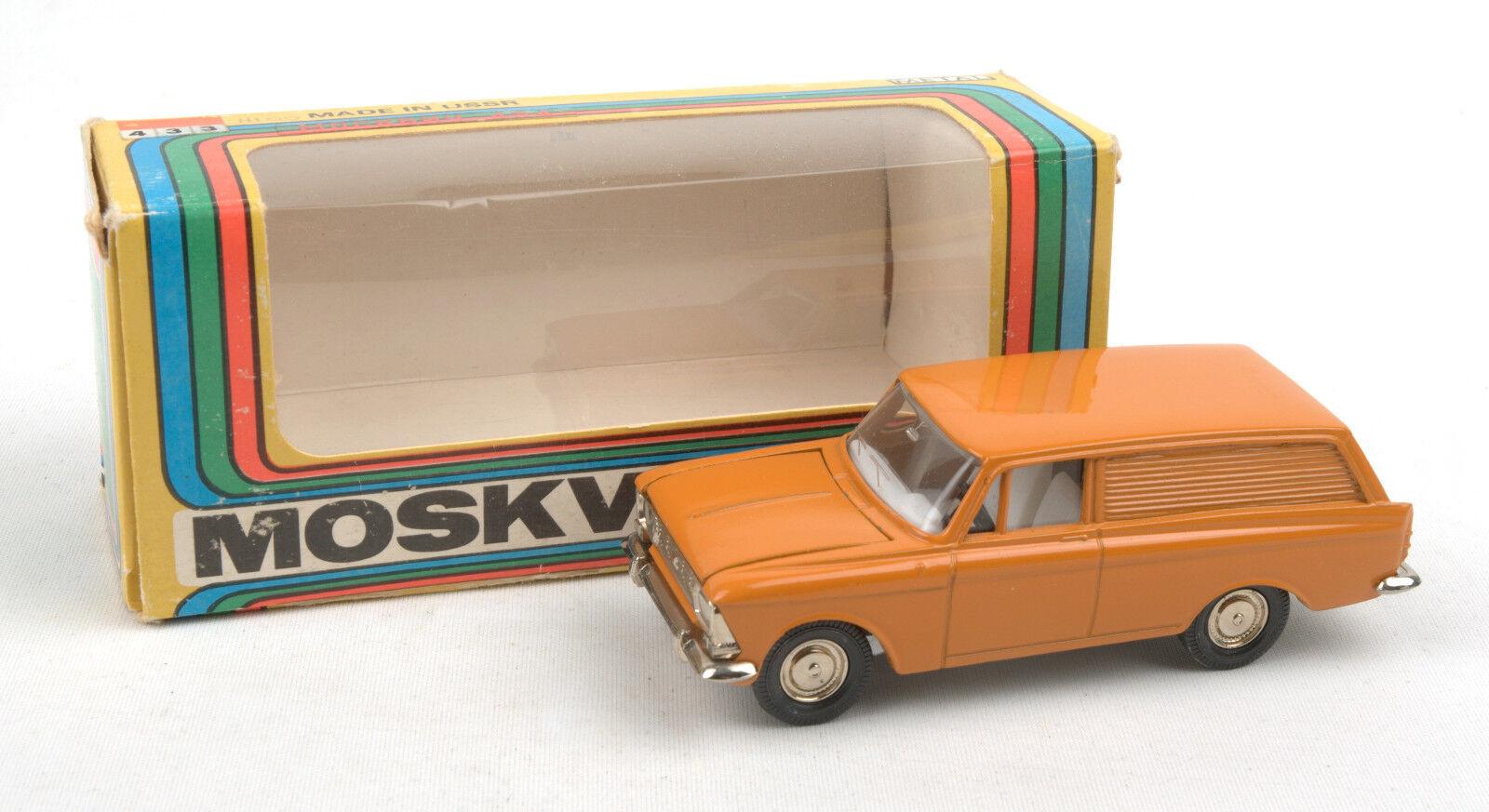 Vintage Radon (Russian USSR CCCP) 1 43 orange Moskvitch 434 Van  MIB