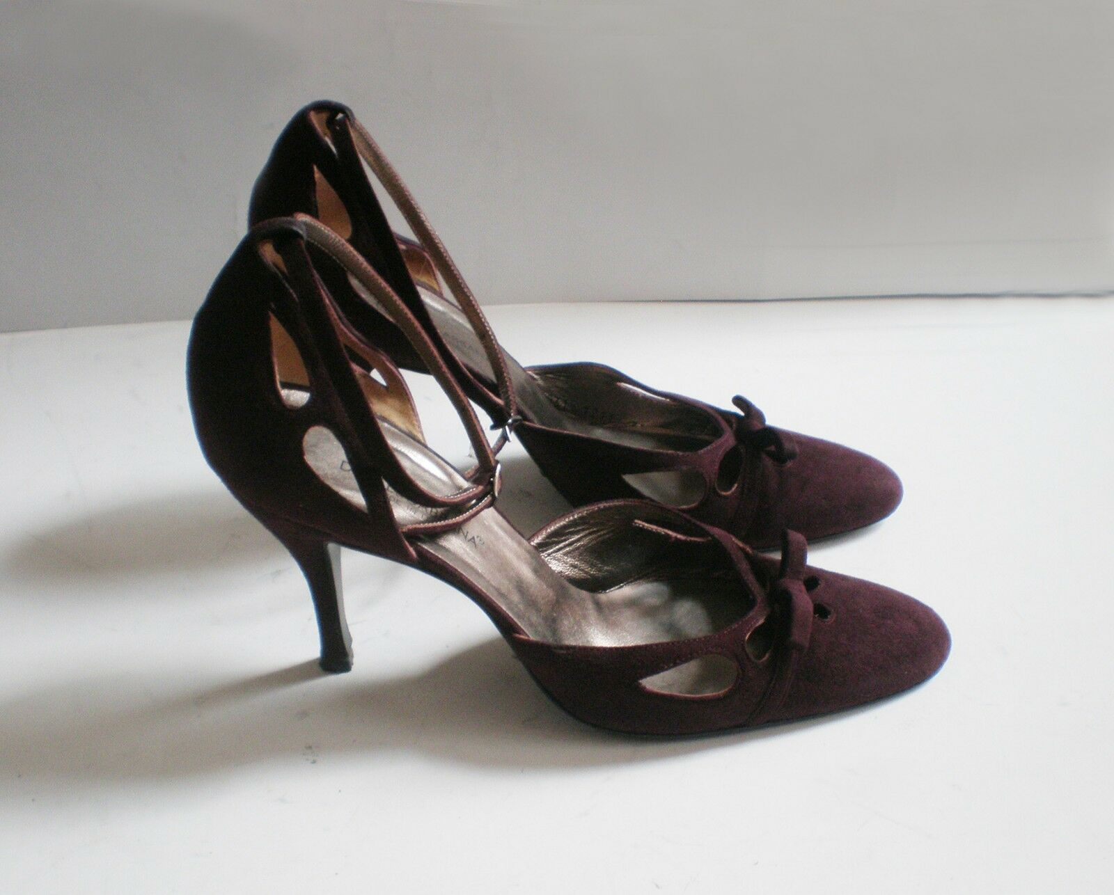 Dolce & Gabbana Schuhe, Wildleder, 100% Original, Größe 39,5  - UVP 370,-