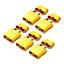 5-Stueck-Original-XT90H-XT90-Goldstecker-Female-Stecker-Schutzkappen-Lipo-Akku-RC Indexbild 1