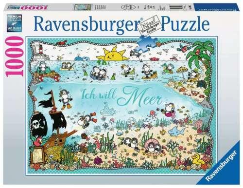 RAVENSBURGER*PUZZLE*1000 TEILE*SHEEPWORLD UNTER DEM MEER*NEU+OVP