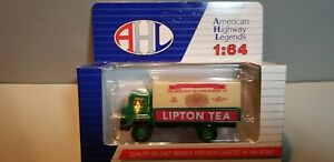HARTOY-LO4032-LIPTON-TEA-DELIVERY-TRUCK-1-64-SCALE-DIECAST-METAL-MODEL