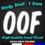 OOF Car Window Decal Vinyl Bumper Sticker Funny Joke Dank Meme Death Sound 0324
