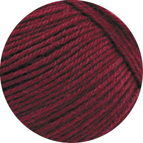 2048 weinrot 100 g Meilenweit 100 Merino Fb Wolle Kreativ Lana Grossa