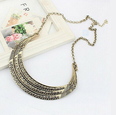 Women Jewelry Bib Chunky New Necklace Chain Fashion Collar Statement Pendant
