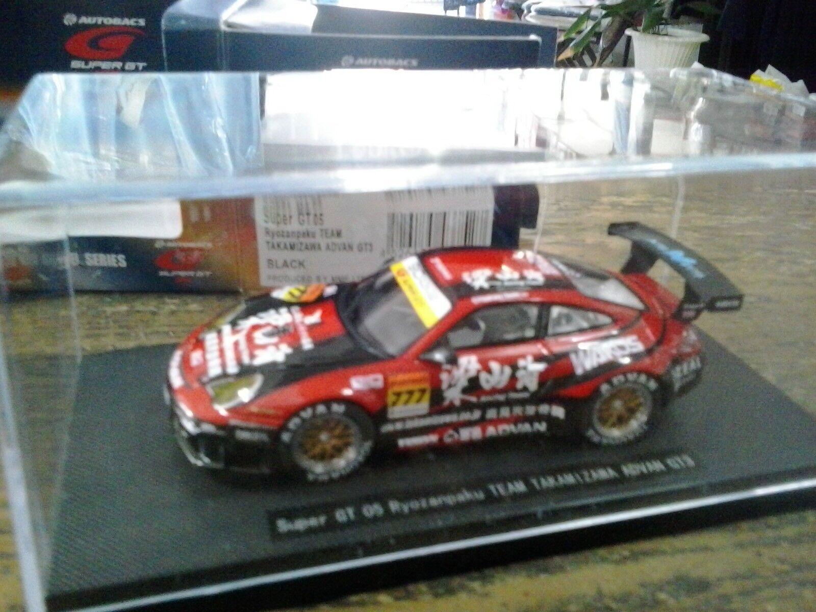 Ebbro 1/43 752 752 752 Porsche 911 GT3 Advan Super GT 2005 e8a6bf