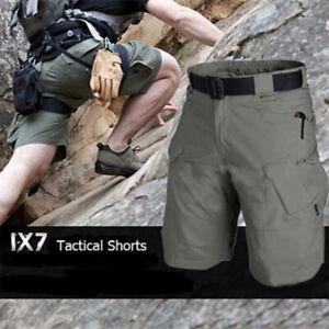 Men-039-s-Tactical-Military-Cargo-Shorts-Outdoor-Hiking-Camping-Camo-Short-Pants