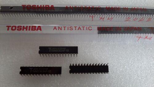 TMM2063AP-10 Lot of 2pcs Toshiba 8K x 8 nMOS SRAM 6264 100nS 300 mil P-DIP