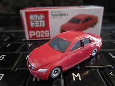 Tomica Taito Prize Half Size P029 Toyota Mark X HO Scale 1:87